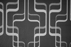 Line abstract background black and white. 2015 Royalty Free Stock Image