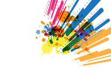 Line abstract background design Royalty Free Stock Images