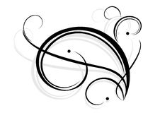 Line art. A illustration graphic with line art drawing Royalty Free Stock Photo