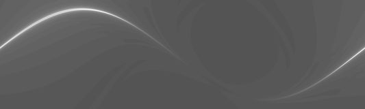 Line art banner Royalty Free Stock Photography