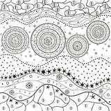 Line art creation Royalty Free Stock Images