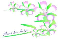Line art flower Stock Photo