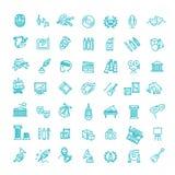 Line art icon - Vector royalty free illustration