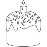coloring pages of easter candles - photo#37