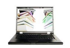 On-line-Bücher Lizenzfreies Stockbild