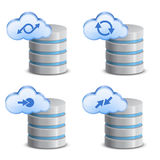 On-line backup service Royalty Free Stock Photos