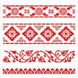 Line border pattern Asian traditional art Design Vector, Thai traditional design Lai Thai pattern Vector Illustration