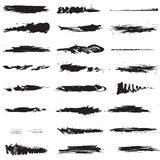 Line brushes Royalty Free Stock Photos