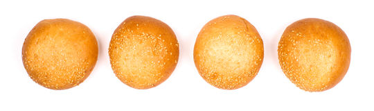 Line of buns Royalty Free Stock Photos