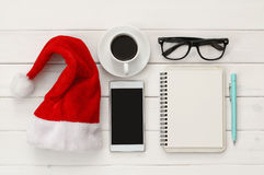 On line christmas holiday shopping concept.  Royalty Free Stock Photography