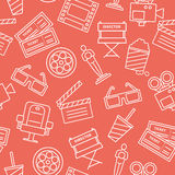 Line Cinema Pattern Stock Photo