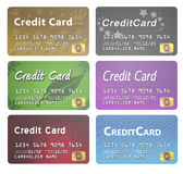 Line of Credit Cards Royalty Free Stock Image