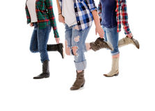 Line Dance Lessons stock photo