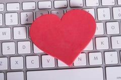 On-line-Datierungs-Konzept Lizenzfreie Stockbilder