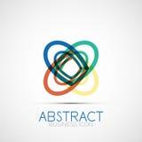 Line design loop logo Stock Photography