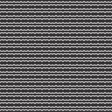 Line dot wave motif seamless design pattern. Royalty Free Stock Images