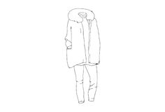 Line Drawings. Stock Photography