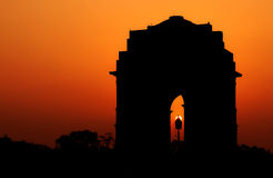 Line Of Duty : india gate Stock Images