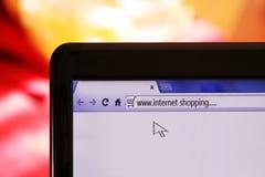 On-line-Einkaufen Stockbilder