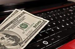 On-line-Einkaufen Lizenzfreie Stockfotografie