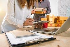 On-line-Einkaufszahlungskonzept stockbild