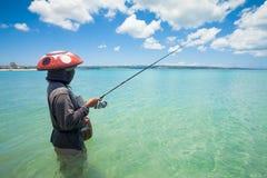 Line fishermen Royalty Free Stock Image