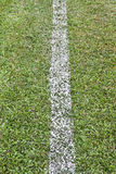 Line a football field Royalty Free Stock Image