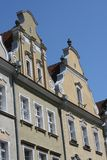 Line of the german houses Royalty Free Stock Photography