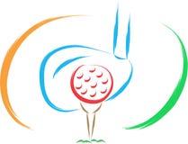 Line golf Royalty Free Stock Photo