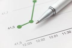 Line Graph Stock Photos