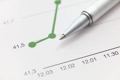 Line Graph Stock Photos