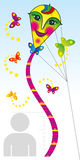 Line growth for children Stock Image