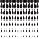Line Halftone Pattern Royalty Free Stock Photography
