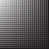 Line halftone pattern Royalty Free Stock Photo