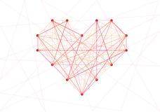 Line of heart