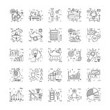 Line Icons With Detail 13 Royalty Free Stock Photography