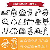 Line icons set 41 Stock Image