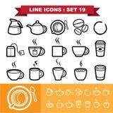 Line icons set 19. Illustration eps 10 stock illustration
