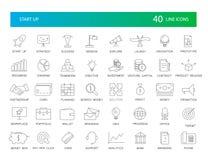 Line icons set. Start Up pack. Vector illustration vector illustration