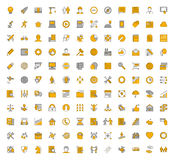 Line  icons for web Royalty Free Stock Image