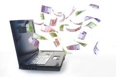 On-line inkomst Royaltyfria Foton