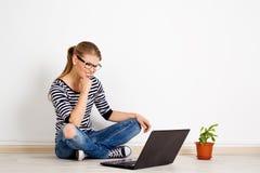 On-line job Stock Photos