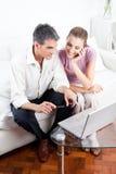On-line-Kauf Lizenzfreies Stockbild