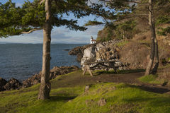 Line Kiln Lighthouse Stock Images