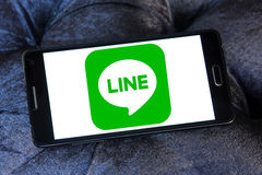 Line logo Stock Images