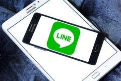 Line logo Stock Photo