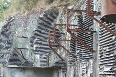 Line maginot radio bunker. Line maginot bunker with radio Royalty Free Stock Photo