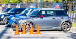 Line of Minis Stock Photos
