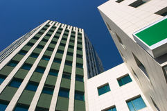 Line of modern architecture Royalty Free Stock Photo