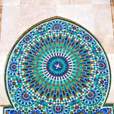 Line in morocco africa old tile and colorated floor ceramic abst Stock Image